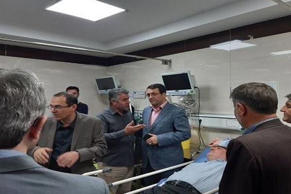 ریزش سقف کاذب، مدیران آموزش وپرورش را راهی بیمارستان کرد