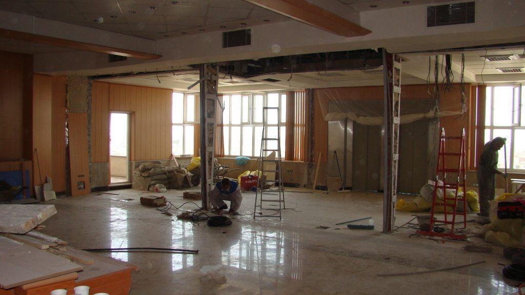انواع بازسازی ساختمان