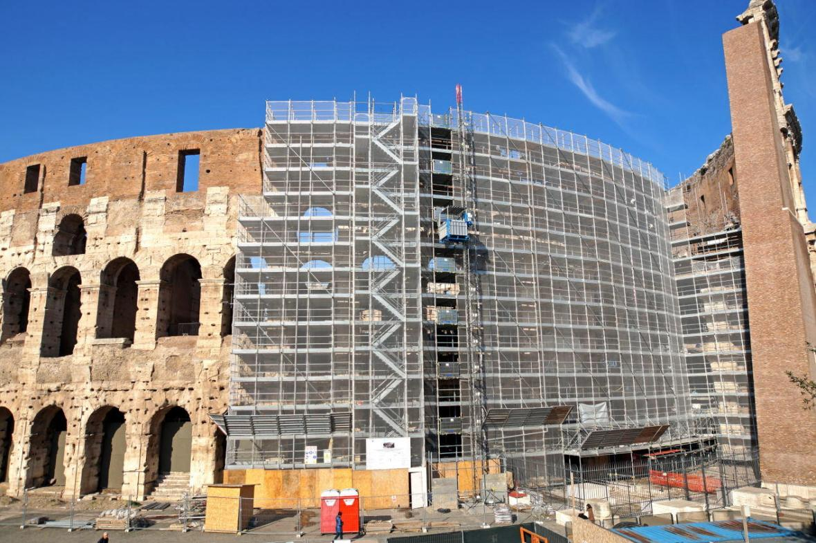 برنامه ایتالیا برای بازسازی ساختمان های قدیمی