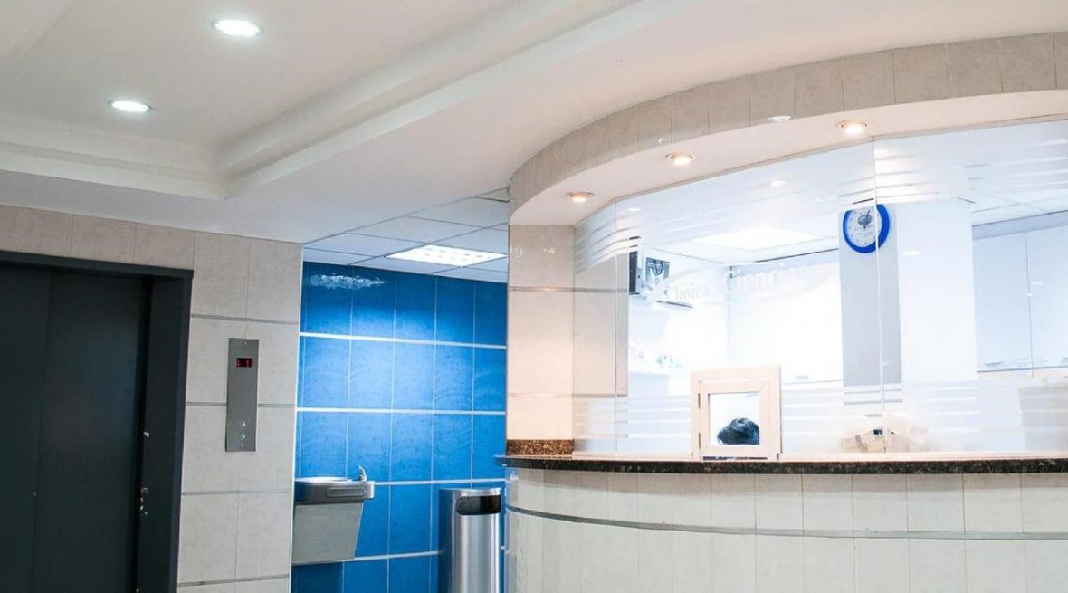 بازسازی ساختمان کلینیک پزشکی