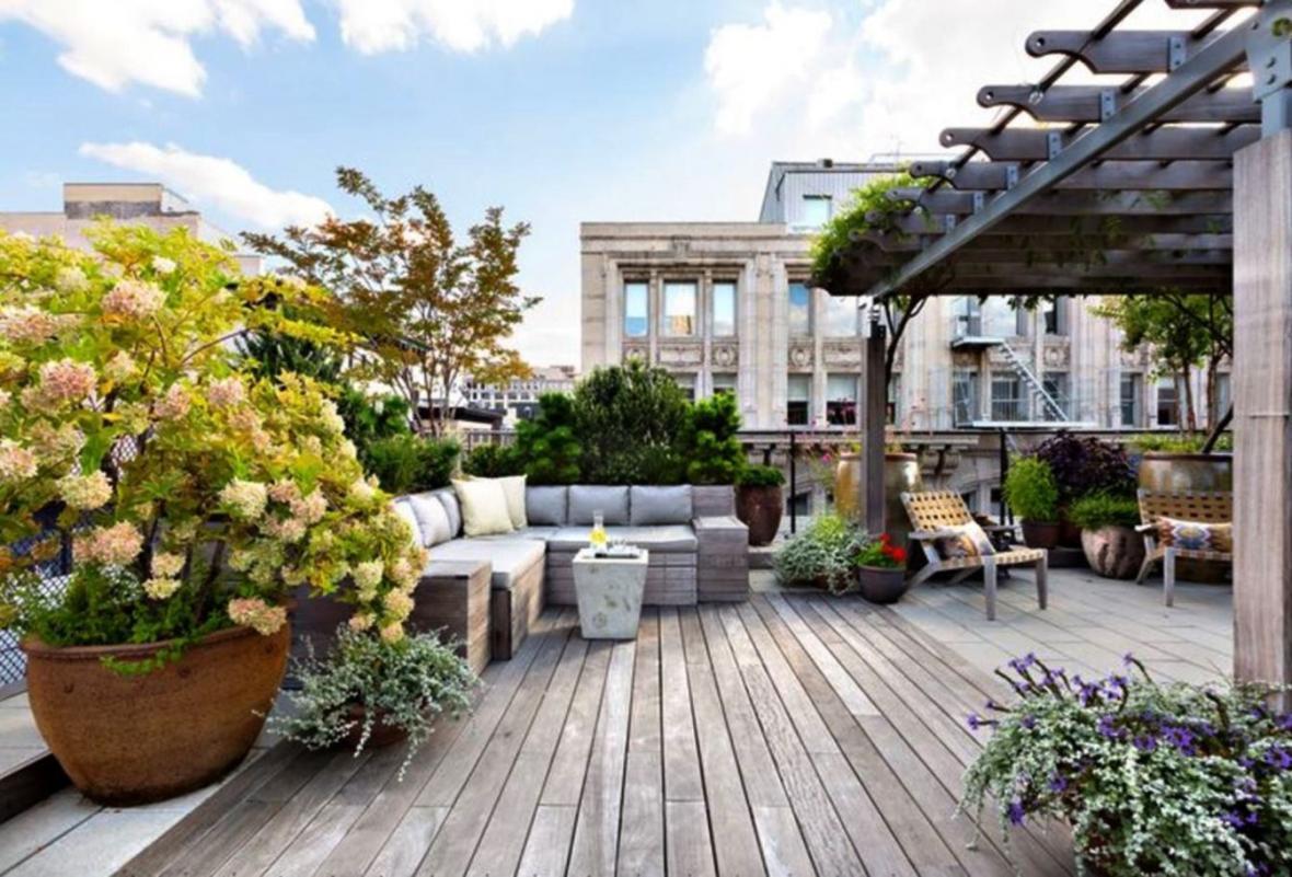 روف گاردن (Roof Garden) چطور به زیبایی محیط کمک میکند