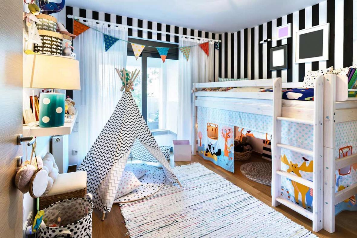دکوراسیون اتاق کودک زمان بازسازی خانه