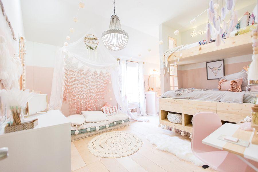 نکته هایی در مورد دکوراسیون اتاق خواب دخترانه