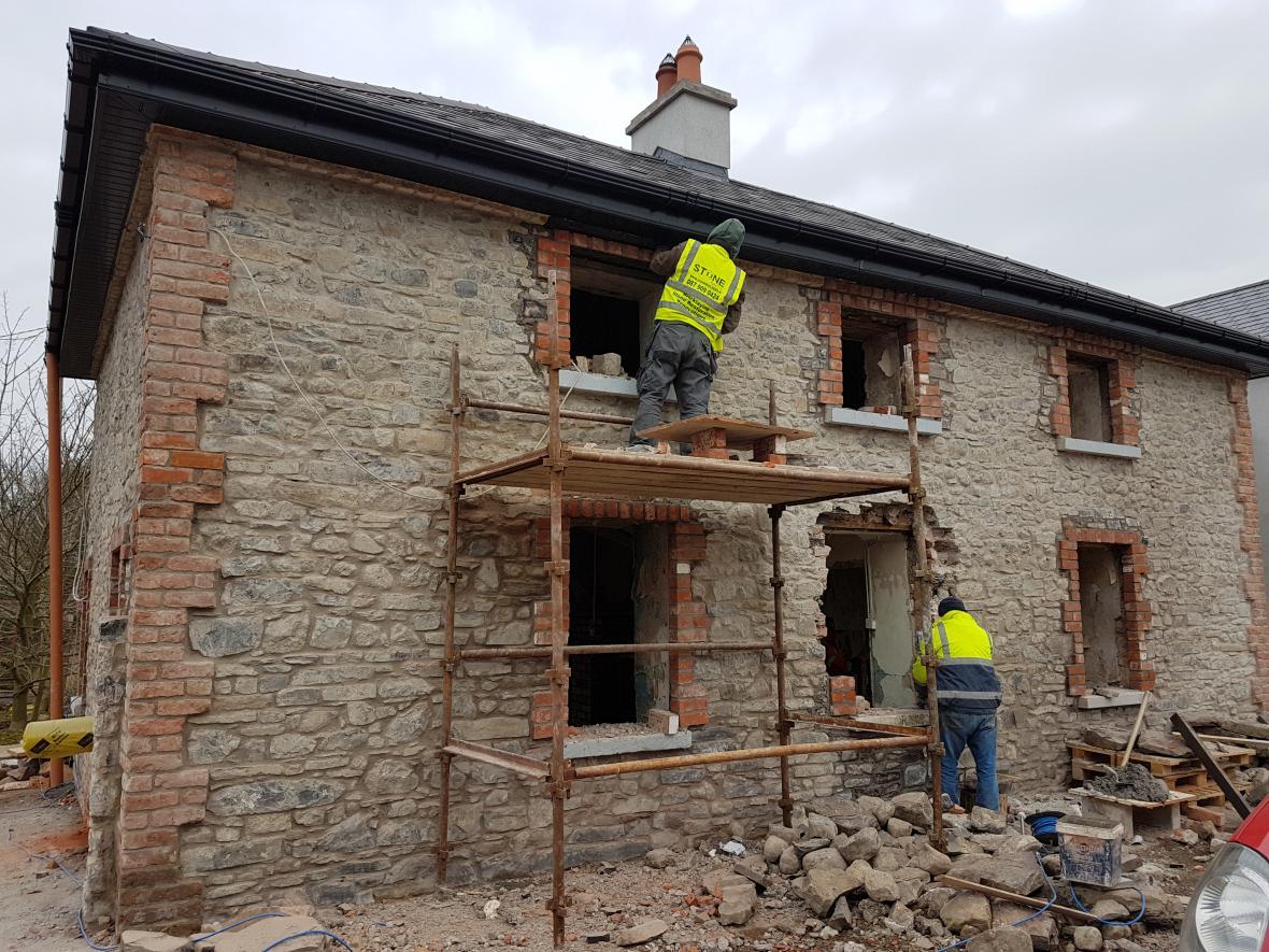 نکاتی در مورد بازسازی نمای ساختمان
