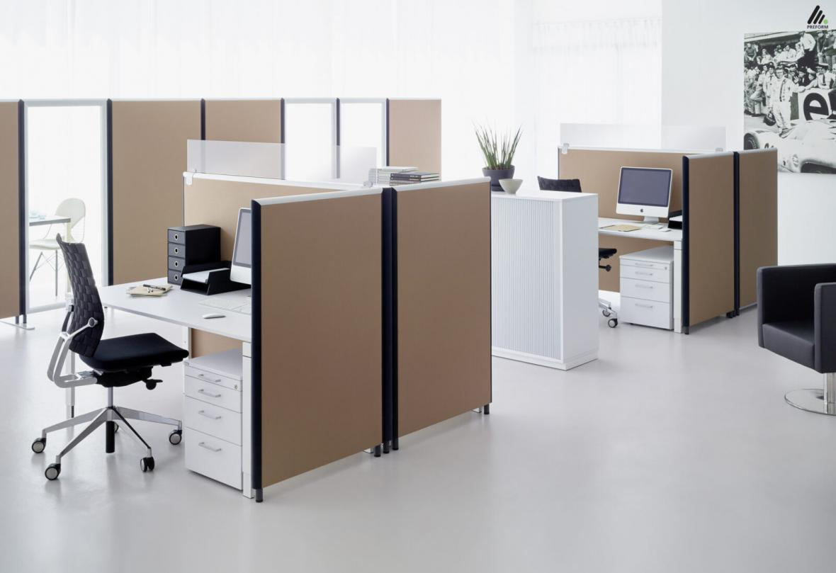 پارتیشن بندی فضاهای اداری چگونه است؟
