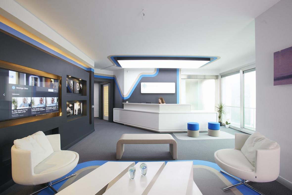 ایده هایی عالی برای طراحی داخلی مطب
