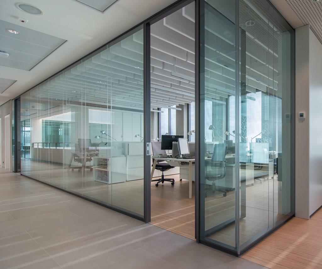 پارتیشن بندی در بازسازی ساختمان اداری