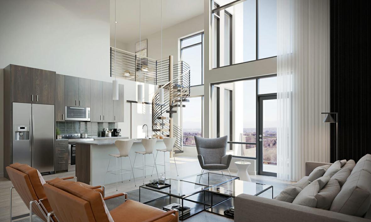 مراحل مختلف بازسازی آپارتمان