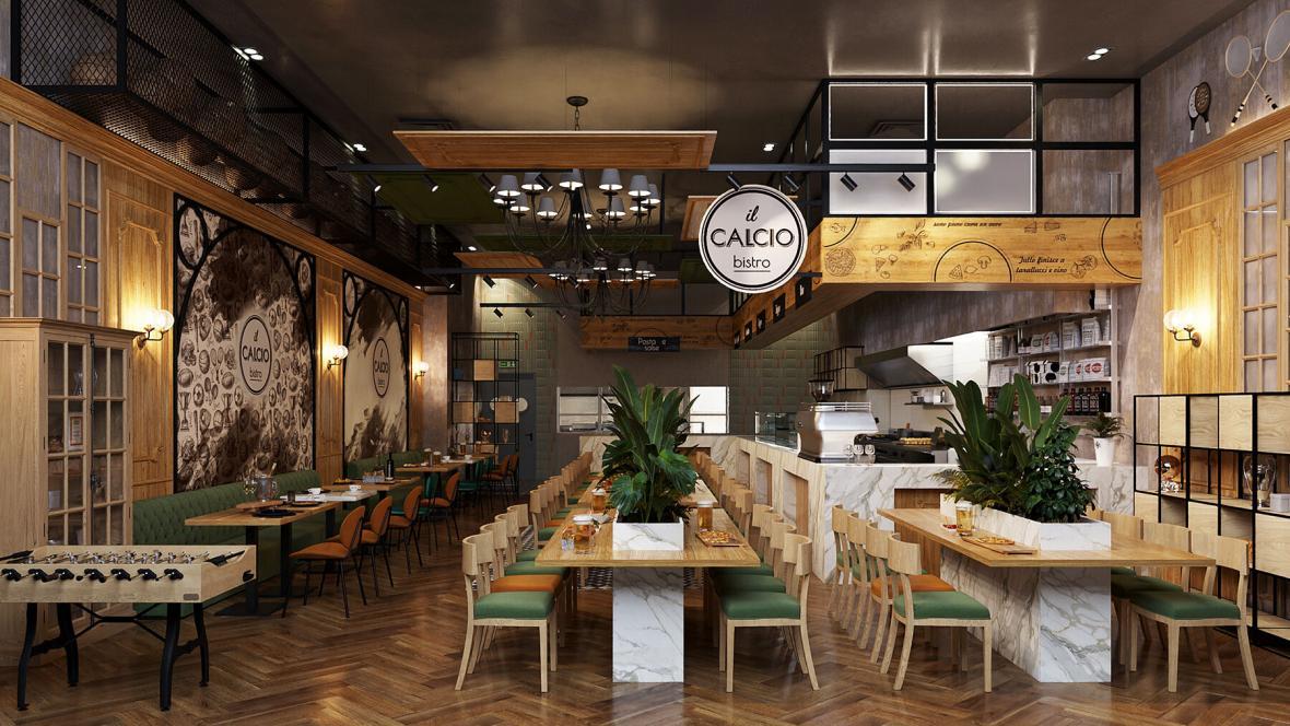 بازسازی رستوران و دکوراسیون داخلی آن