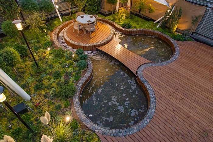 گلخانه در پشت بام یا روف گاردن