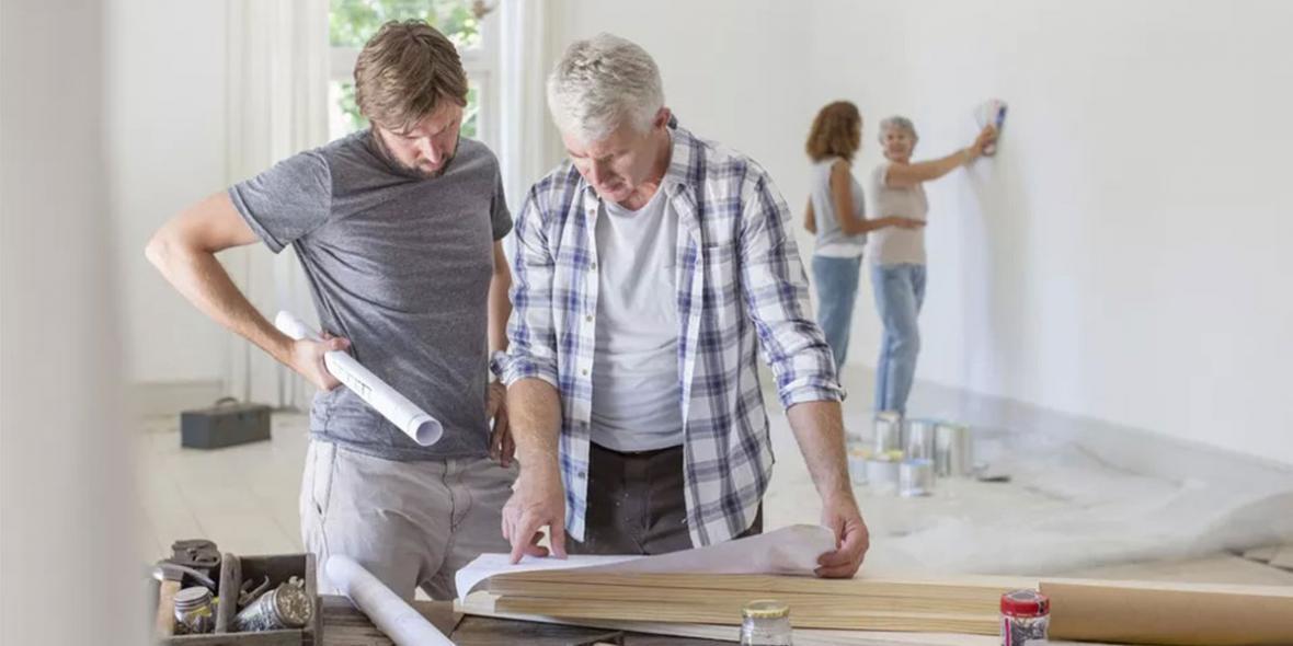 اجرای صحیح صفر تا صد مراحل بازسازی خانه