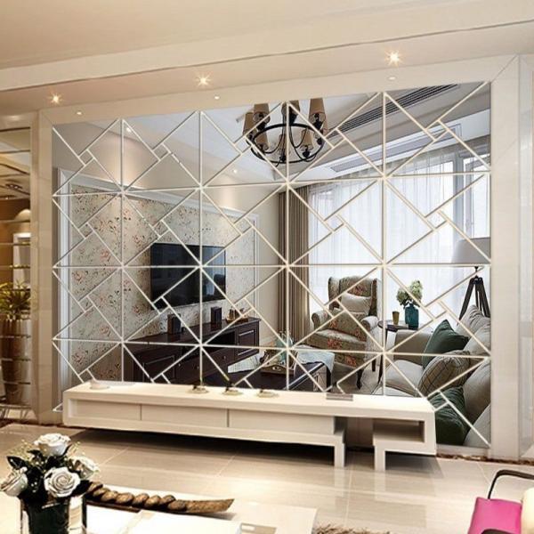 استفاده از آینه کاری در ساختمان