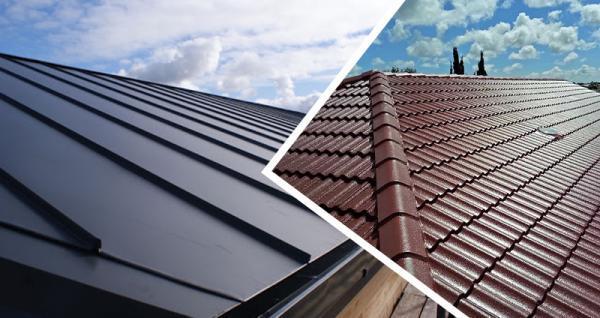 آشنایی با انواع پوشش برای سقف شیبدار